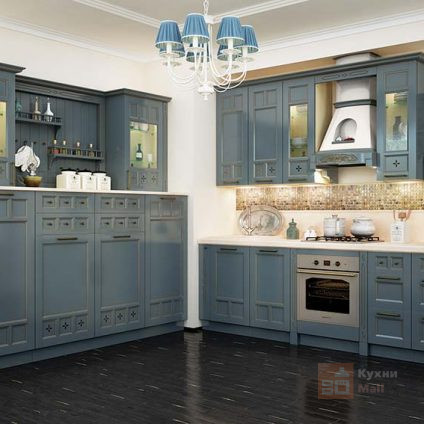 Кухня Кекс с голубикой