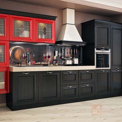 Кухня Красный мак