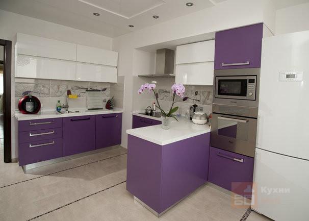 Кухня Нежные крокусы
